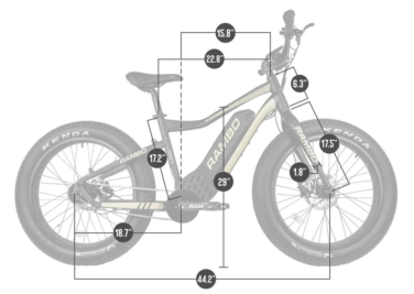 750-24 Rambo Ryder Dimensions