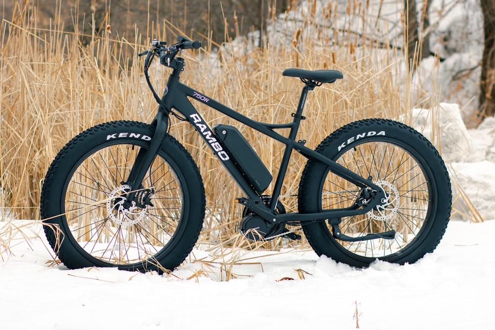 750 Watt Rambo Savage E-bike