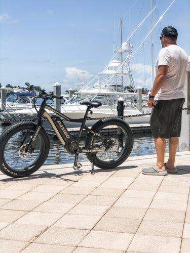 Commuting on your Rambo e-bike