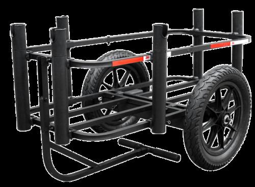 E-bike fishing cart