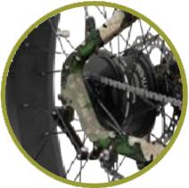 Prowler rear hub