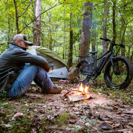 Bring your E-Bike camping