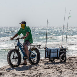 Rambo Bikes can be used for fishing