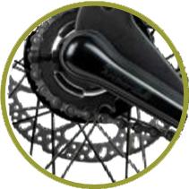 Savage rear hub