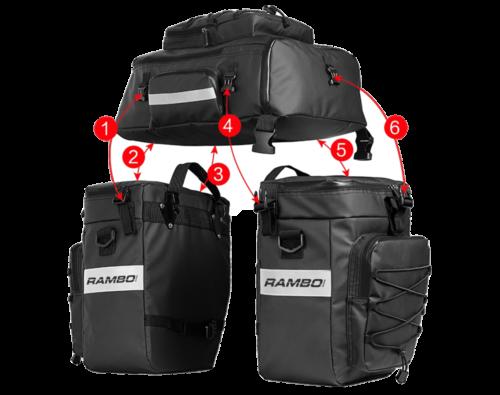 E-bike Triple Accessory bag