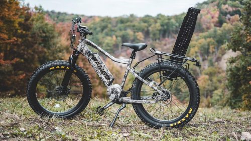E-bikes for camping